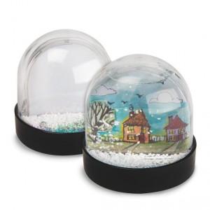 holiday craft snow globe