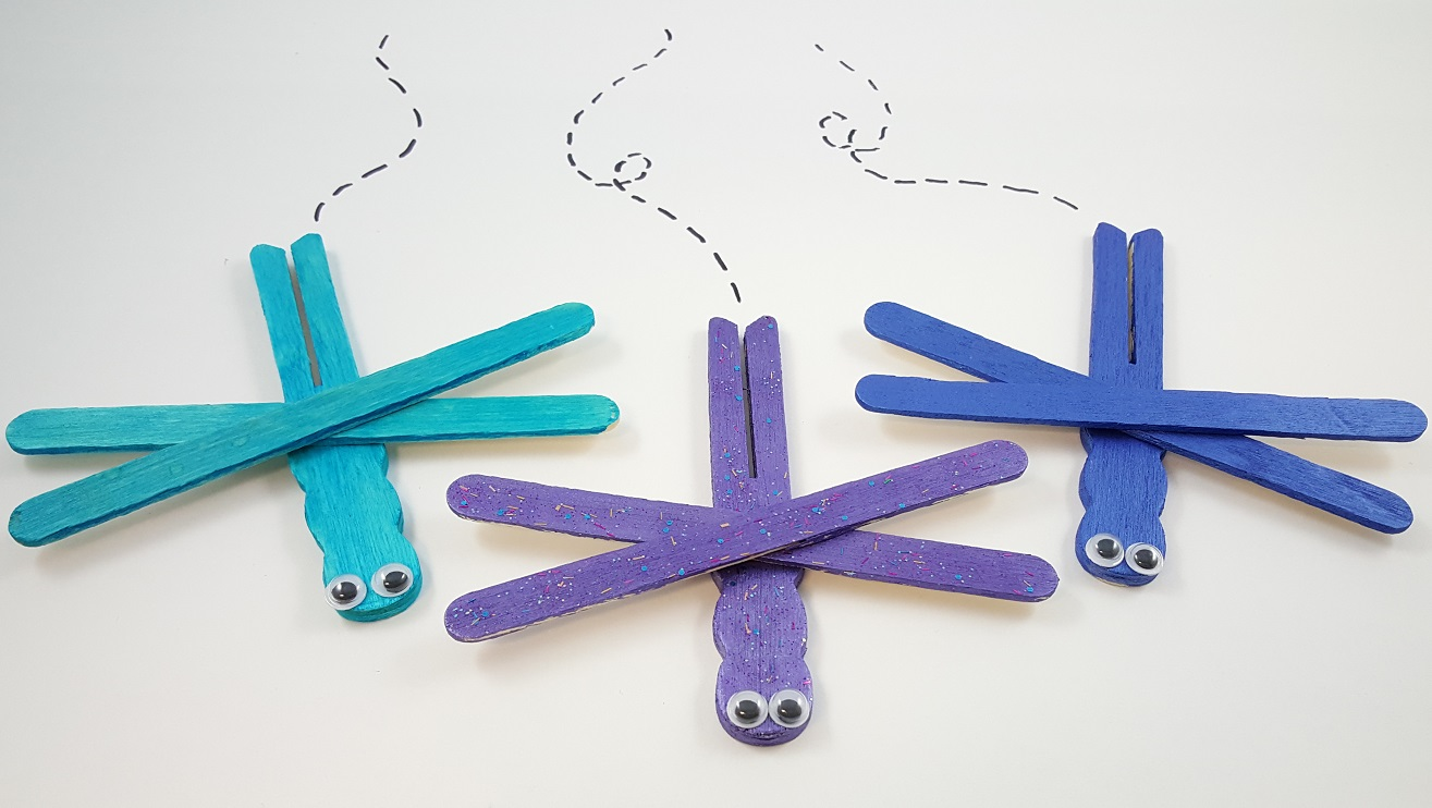 Dragonfly arts and crafts - Mother S Day Crafts