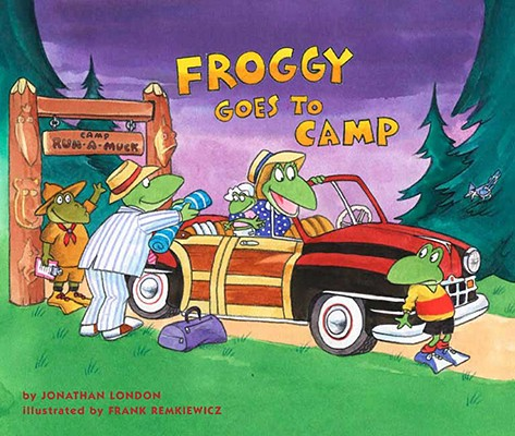 Monthly Book Activity Froggy Goes To Camp on Reading Venn Diagrams
