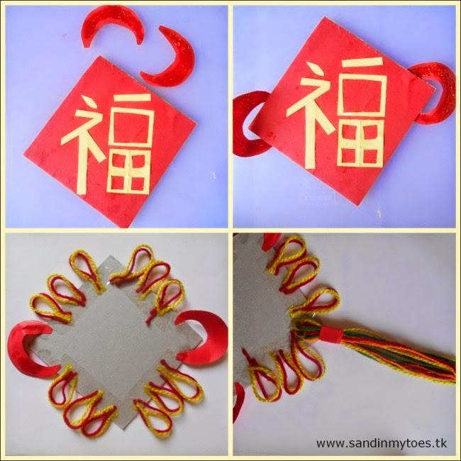 chinese new year craft activity - Chinese New Year Craft