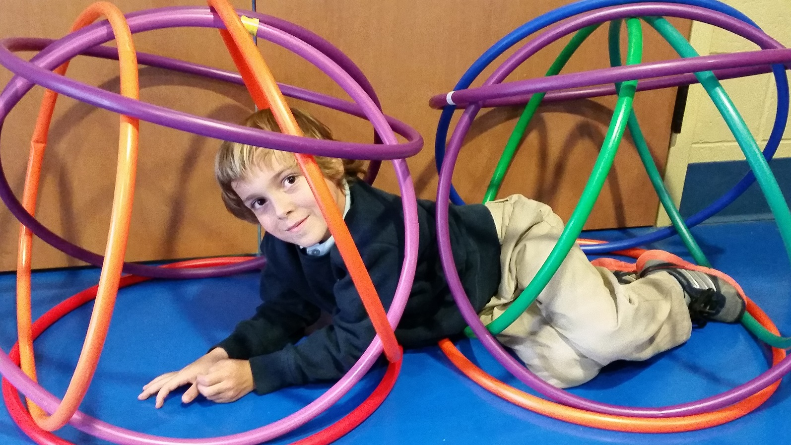 hula hoop PE activity
