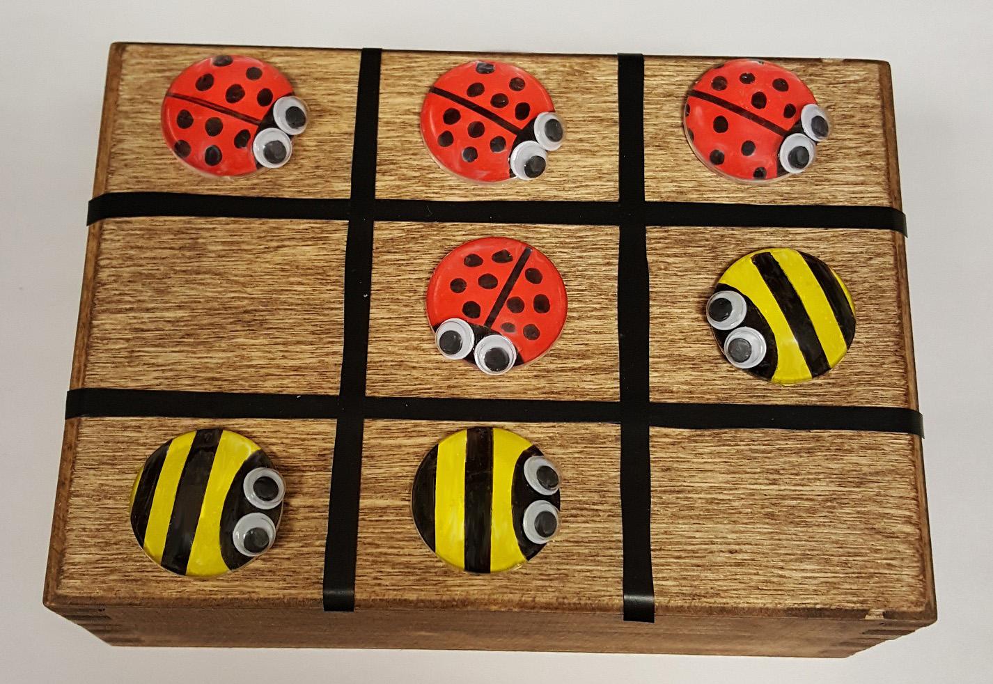 Ladybug & Bee Tic Tac Toe edited