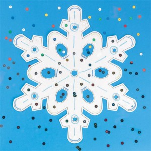 snowflake craft for winter