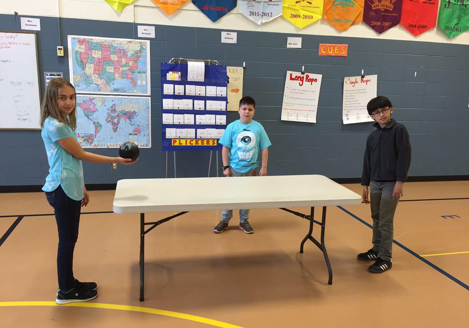 Table Ball PE Activity Striking Unit