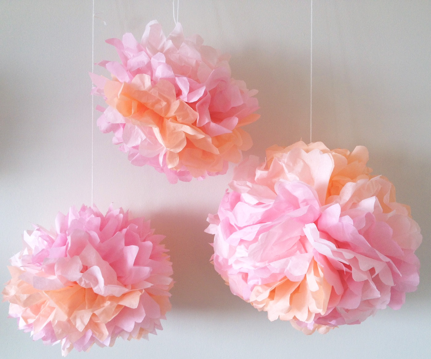 how to make tissue paper flowers - craft tutorial - s&s blog