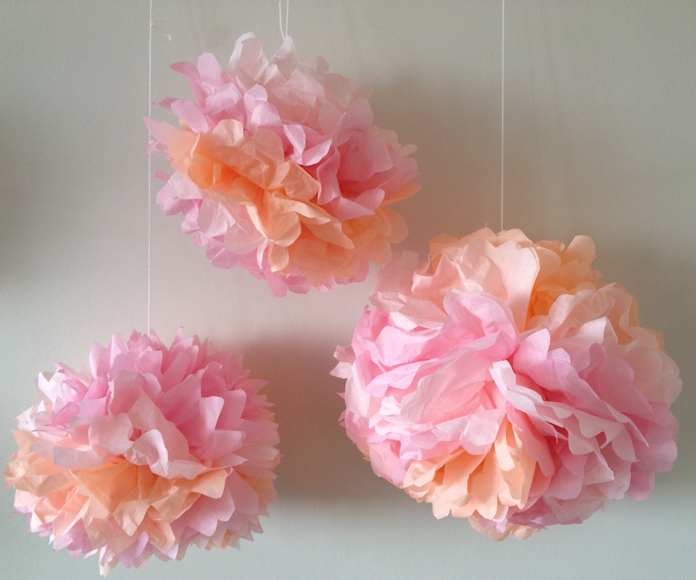 Tissue Paper Flowers Craft