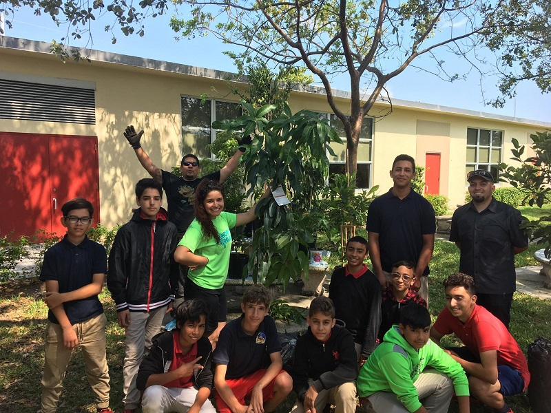 afterschool edible garden