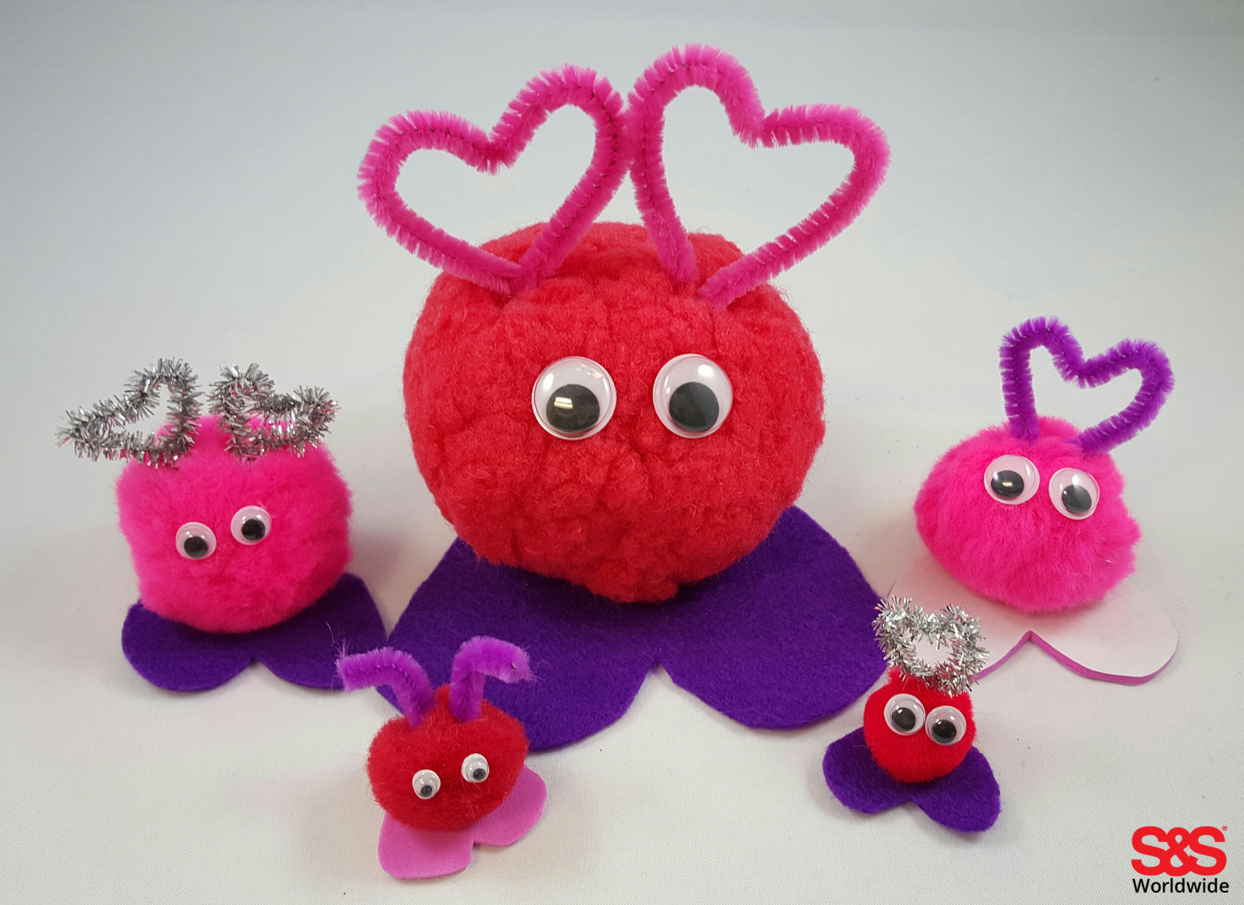 Valentine love bug craft - Valentine S Day Craft