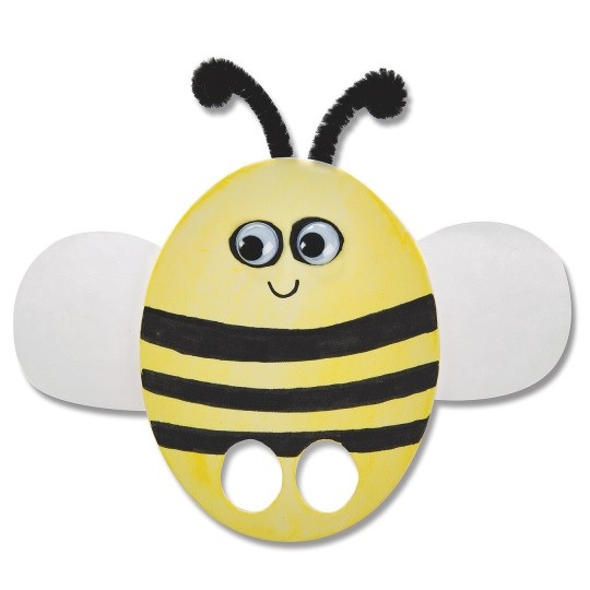 bee finger puppet template animal finger puppets easy craft for kids s s blog