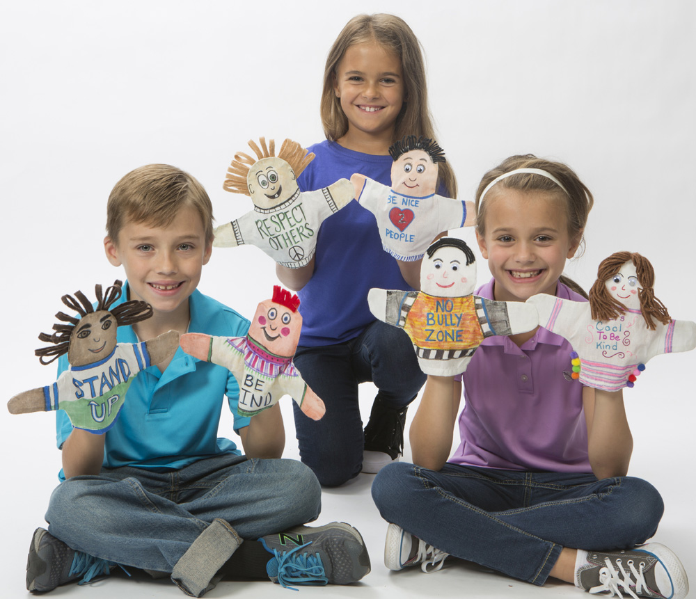 bully prevention kids puppets