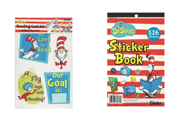 dr suess stickers and goals