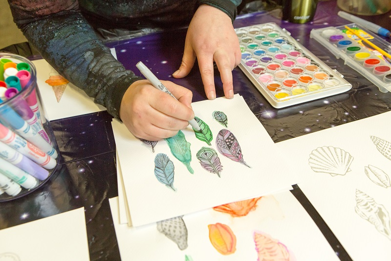 feather art starters