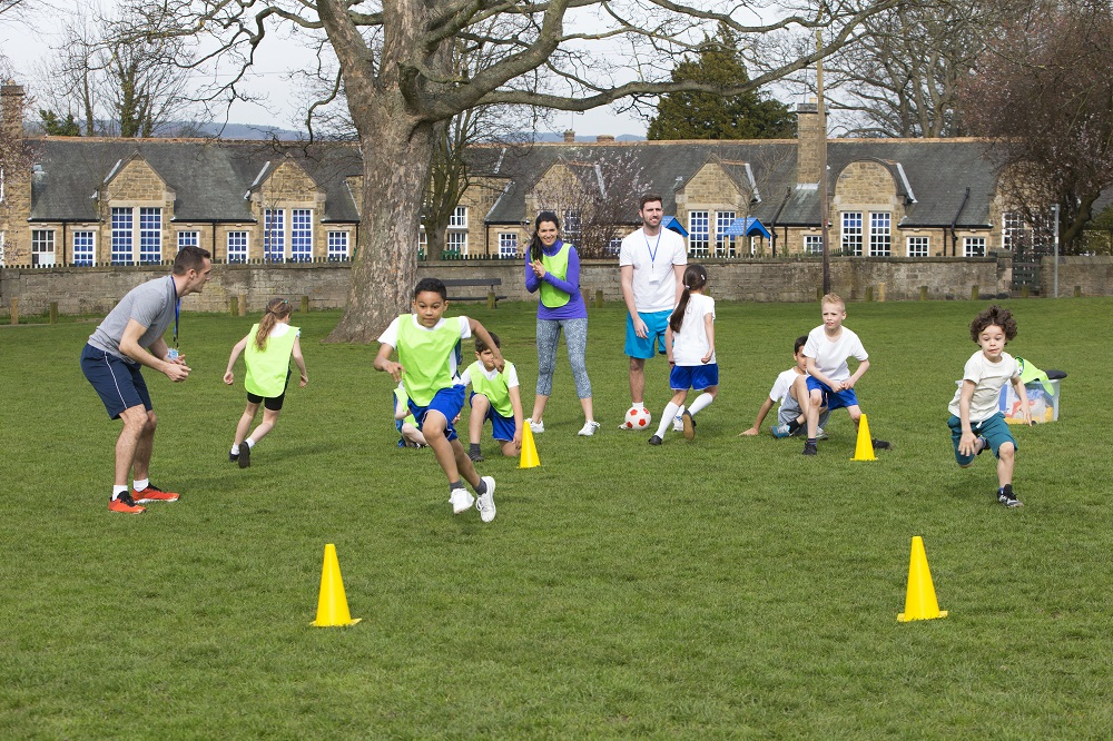 Tips for Teaching PE Outdoors - S&S Blog