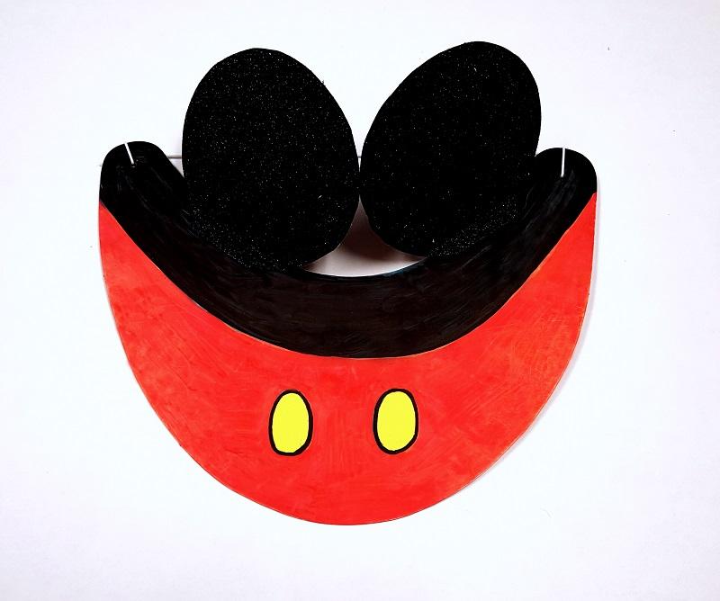 mickey visor