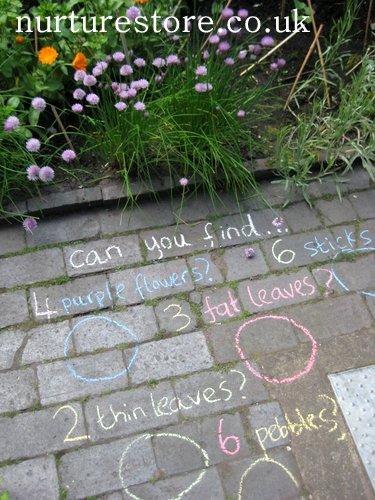 natureco chalk nature hunt