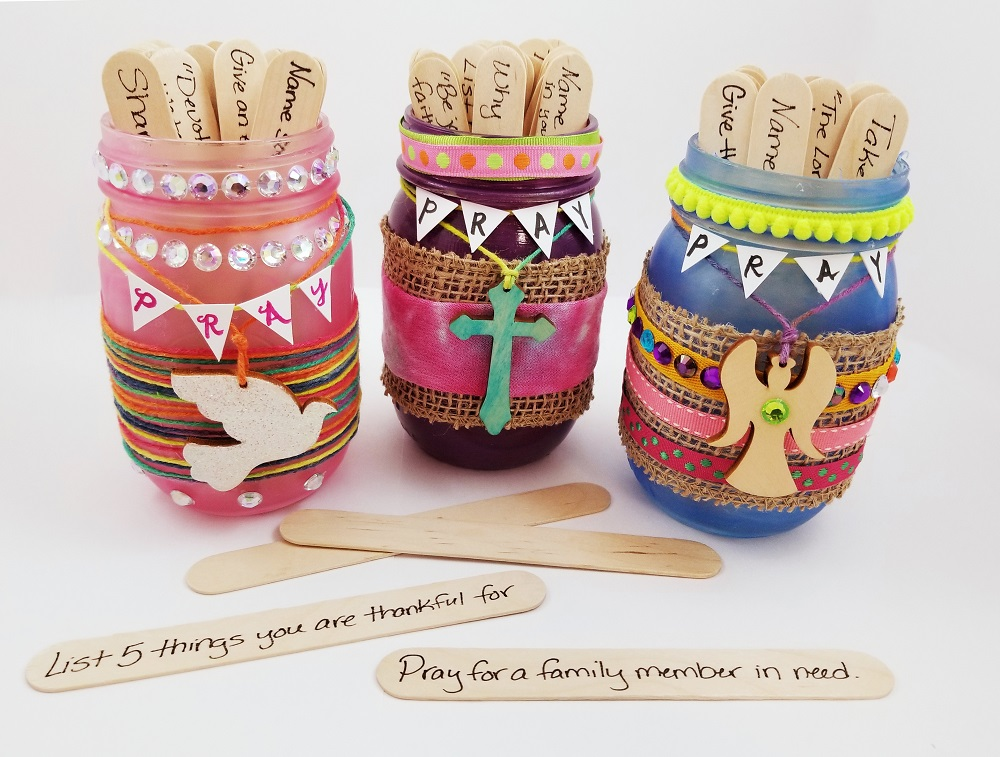 prayer jars craft activity