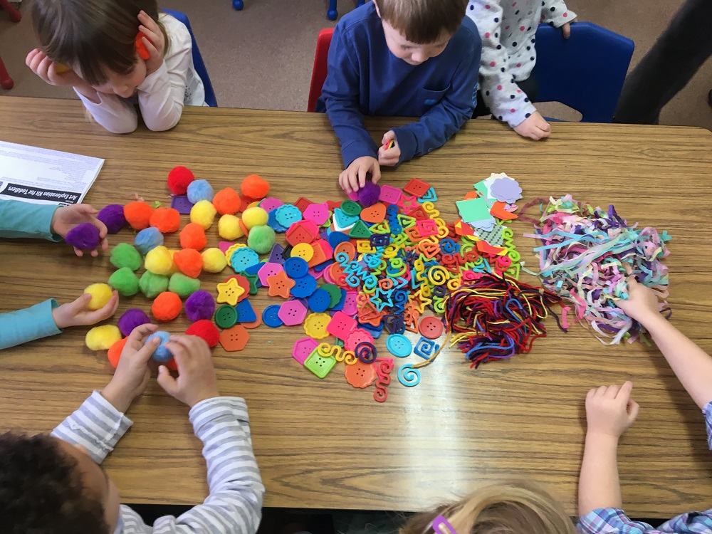 Preschool Arts & Crafts Exploration Activity - S&S Blog