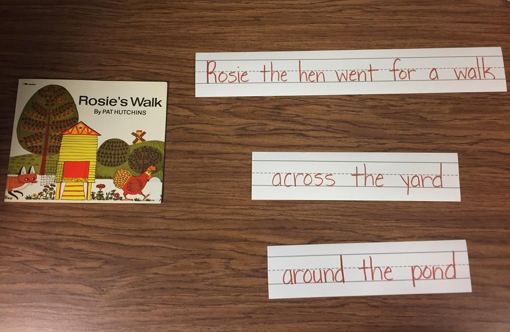 rosie's walk classroom book