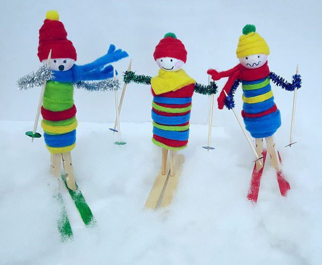 Winter Craft Ideas For Kids Part - 30: Winter Crafts