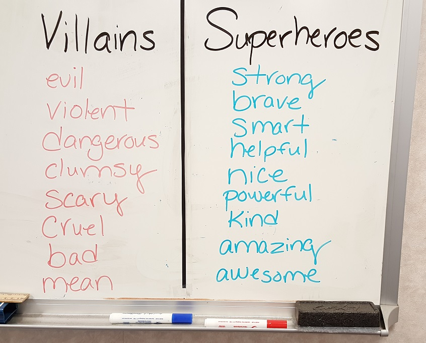superhero bullying prevention