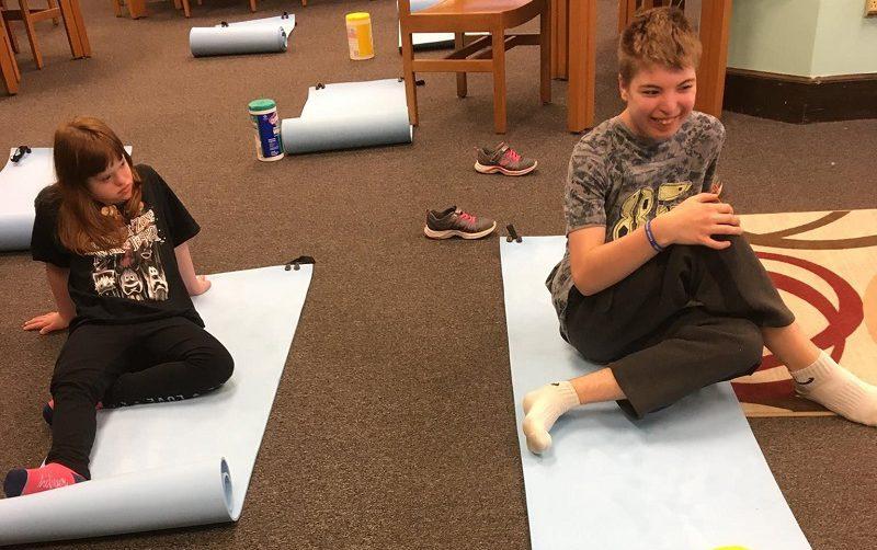 classroom storytelling yoga