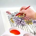 Diffusing Watercolor Masterpiece