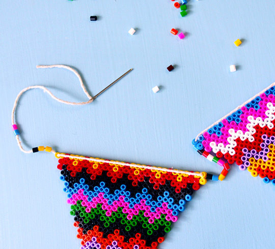 Fuse bead bunting