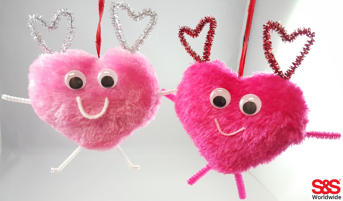 valentine's day heart craft