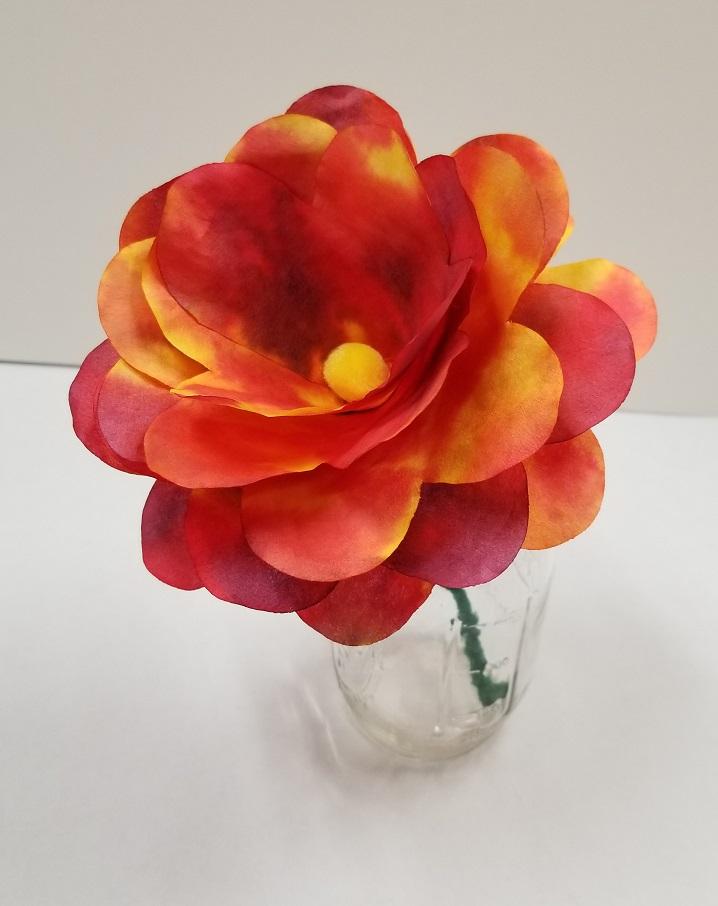 3d diffusing paper flower