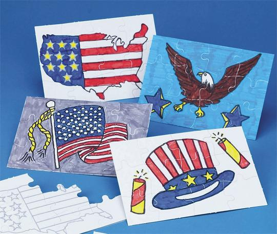 Fourth of July puzzles
