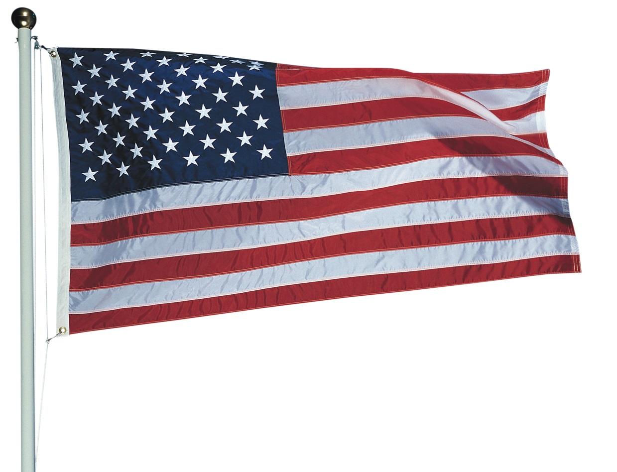 Flag Day senior residents