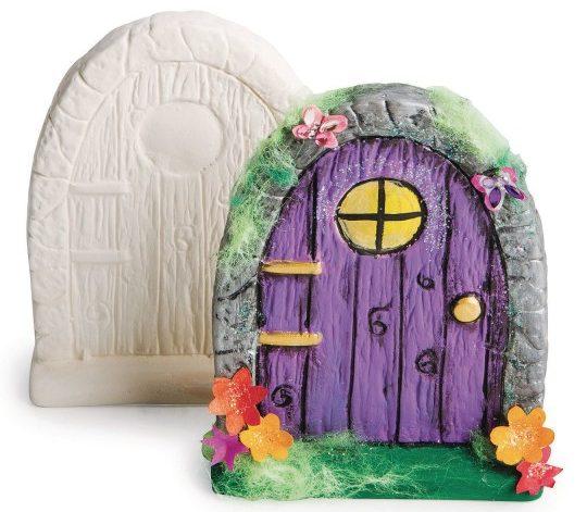 Bisque Fairy Door