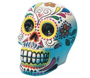 Bisque Skull Bank