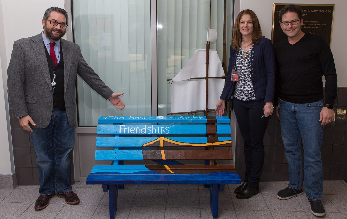 buddy bench for friendship