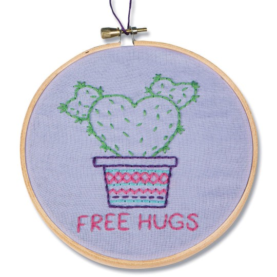 Cactus Embroidery Kit