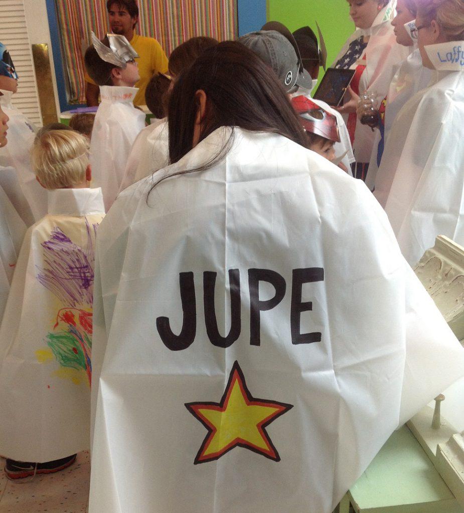 Superhero capes summer camp
