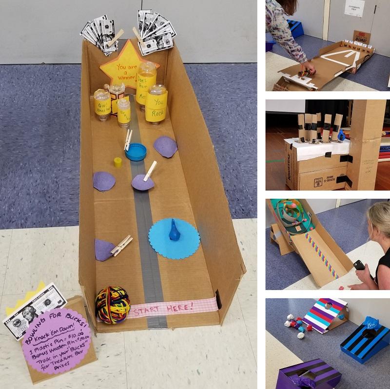 Cardboard Makerspace Challenge