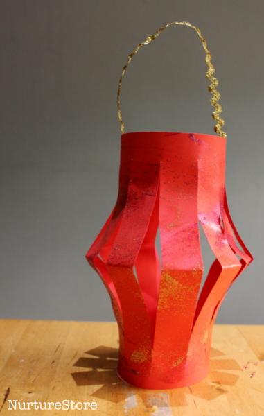Chinese New Year lantern craft