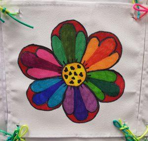 Collaborative art craft kit