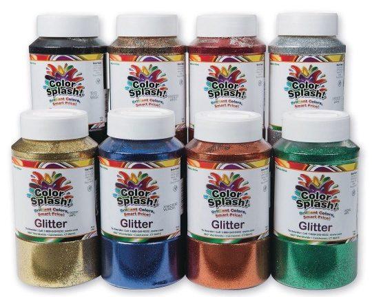 Color Splash Glitter