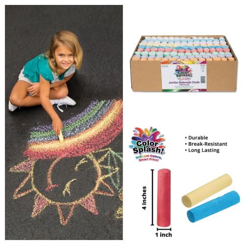 Color Splash Sidewalk chalk