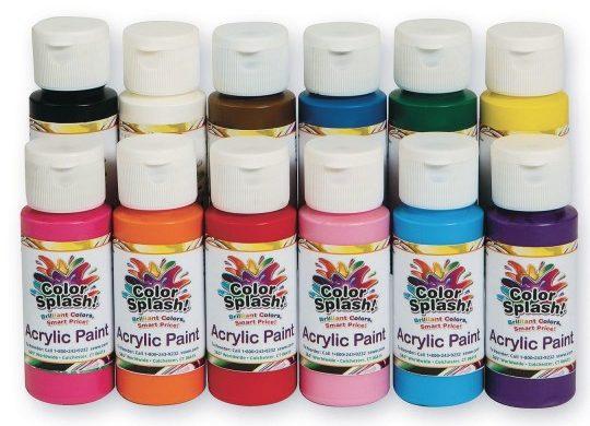 Color splash 2oz Acrylic Paint