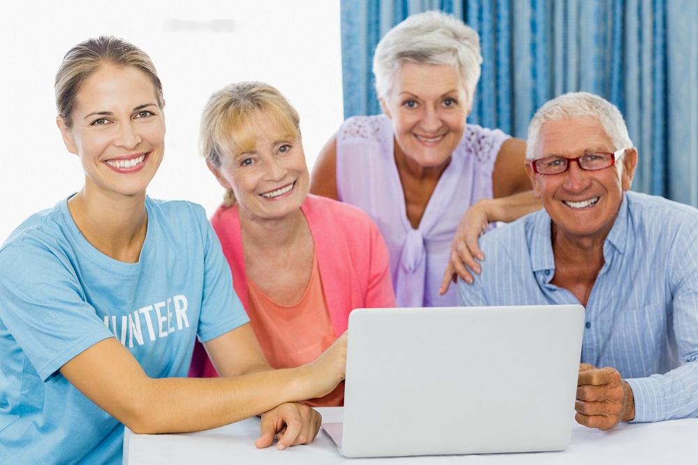 community service senior residents