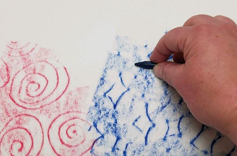 Crayon Resist Watercolor Activity