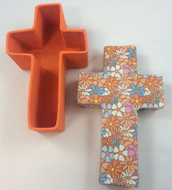 paper mache cross