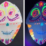 DIY Neon Sugar Skulls