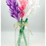 Easy Paper Hyacinth Flowers