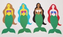 DIY mermaid craft