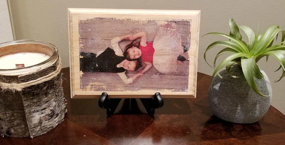 DIY photo craft keepsake