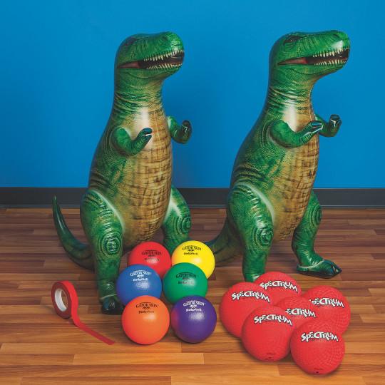 dinosaur dodgeball